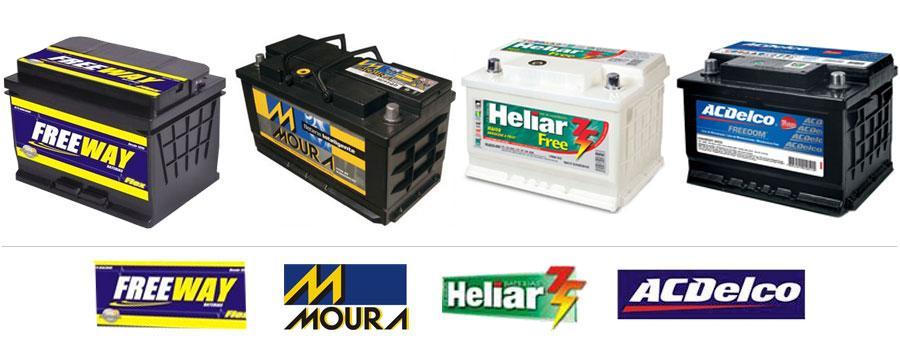 baterias para carro Nova Lima