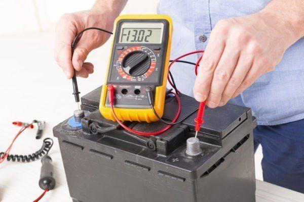 Equipamentos para serviços com bateria automotiva