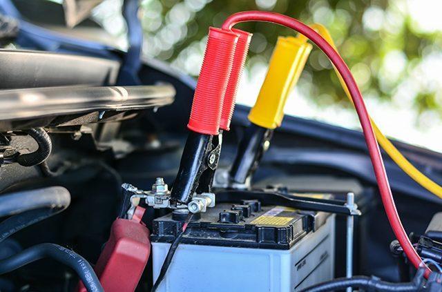 O que fazer quando a bateria do carro acabar